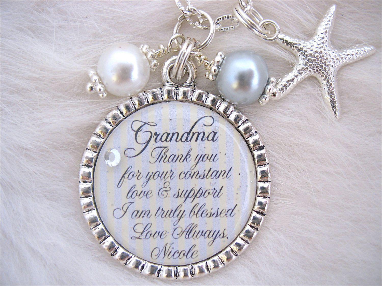 Grandmother Wedding Gift: GRANDMOTHER Of The BRIDE Grandmother Of The Groom Gift
