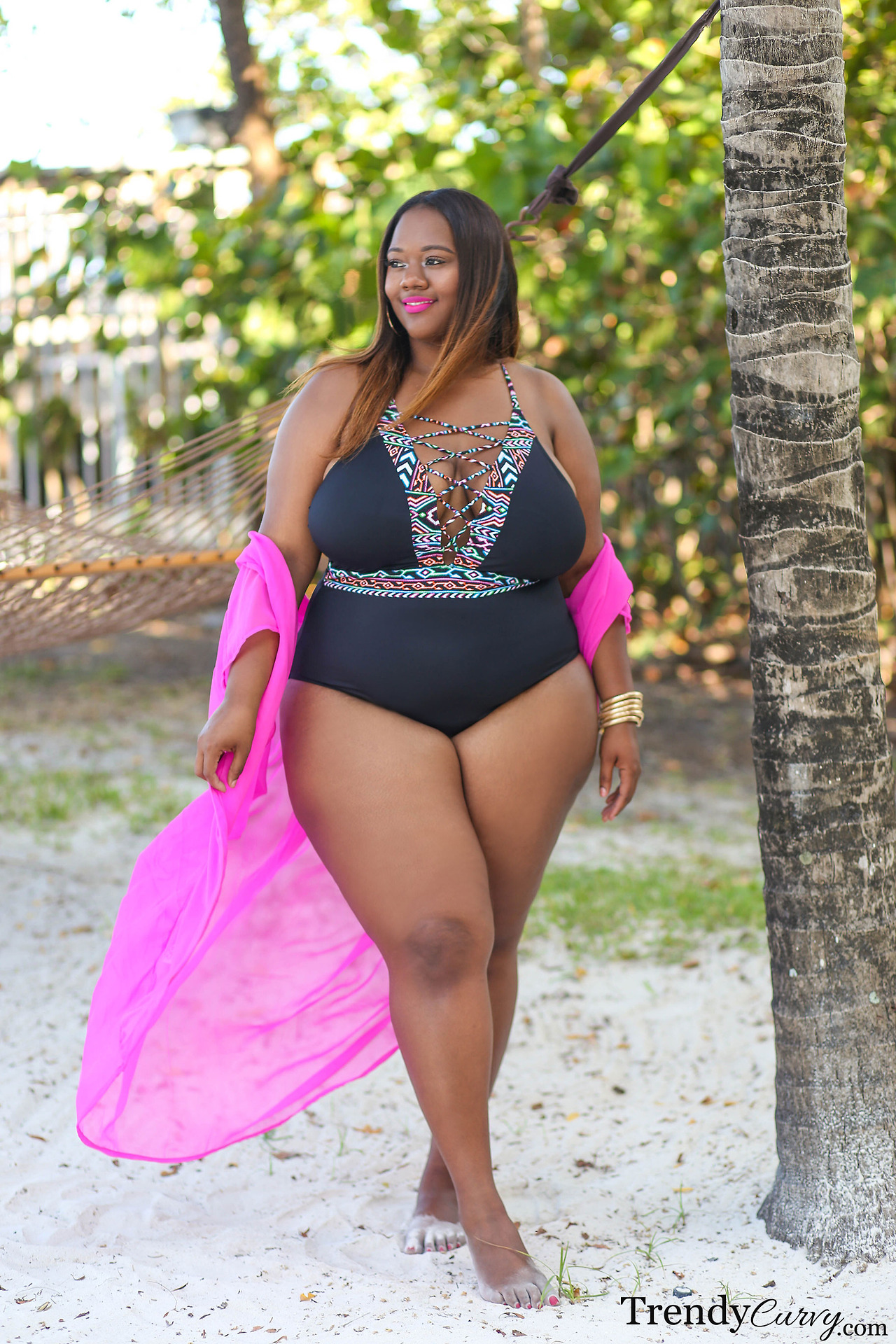 Party Outfit Für Mollige Bbw And More Trendycurvy Plus Size Swimwear Lookbook