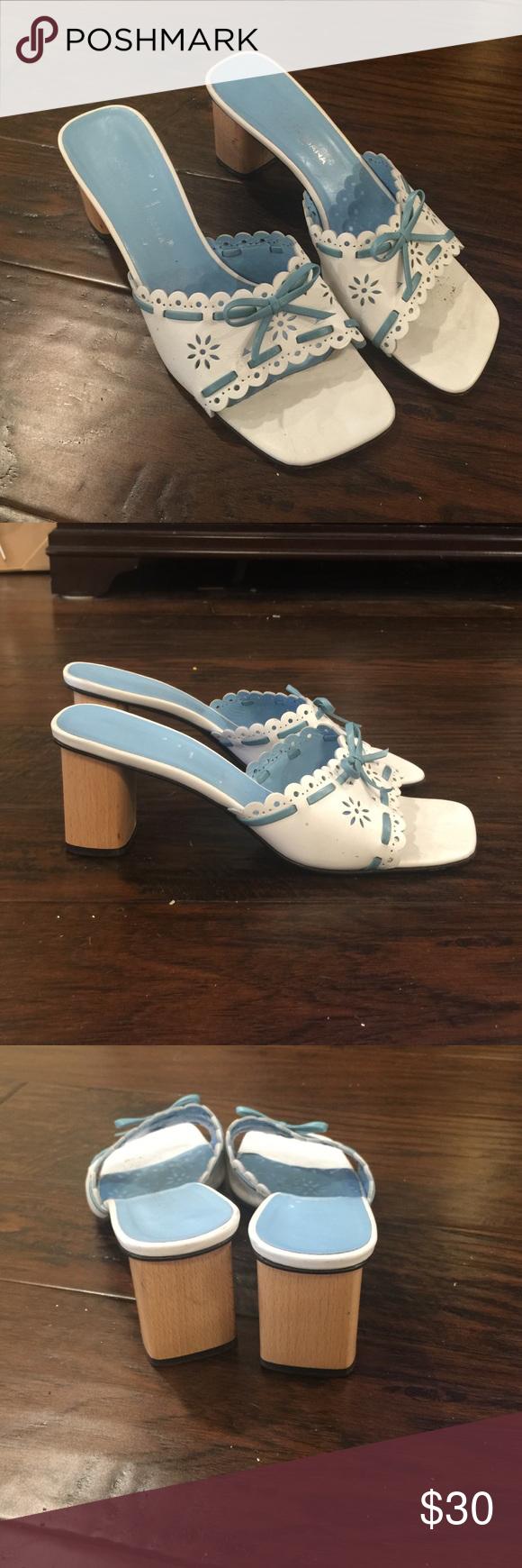 Dolce & Gabbana slides size 39 EUC Dolce & Gabbana slides size 39. Super cute! Dolce & Gabbana Shoes Sandals