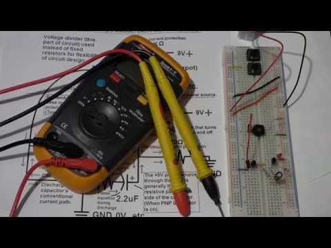 multimeter testing of 2n3904 npn and 2n3906 pnp controlled led rh pinterest com