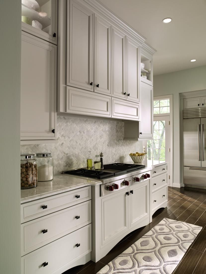 Notice the #valance on the base cabinets - Furniture details are ...
