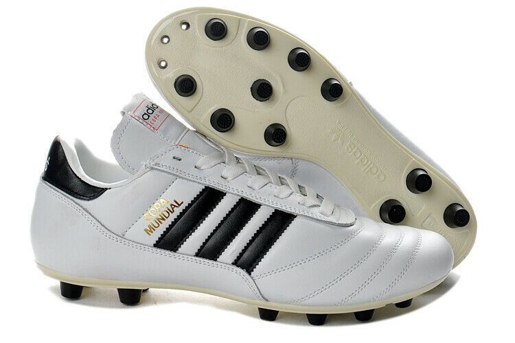 separation shoes 5a740 814fd New White Adidas Copa Mundial Leather FG West Germany Messi Cleats Soccer  Boots  Adidas