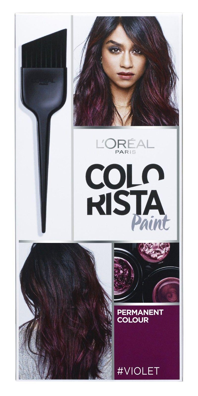 L Oreal Colorista Paint Violet Hair Harfarge Matcha Toner