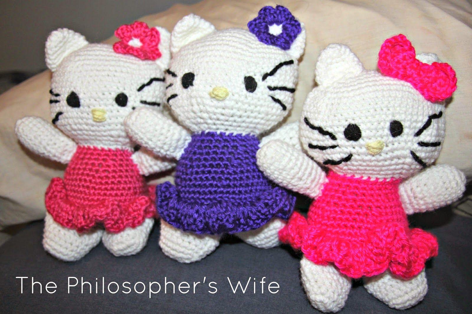 Pin De Cindy Ayala En Mis Muñequitos: The Philosopher's Wife: Crocheted Hello Kitty Dolls