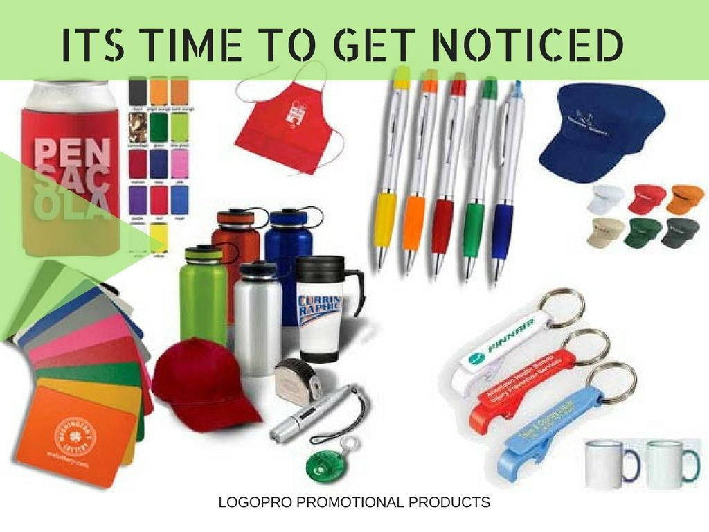 Promote Your Business With Our Promotional Items Logopro