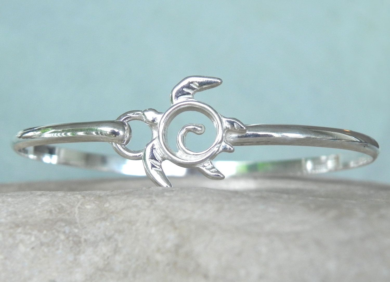 bracelet product silver antique beachn antiquemetal sea turtle