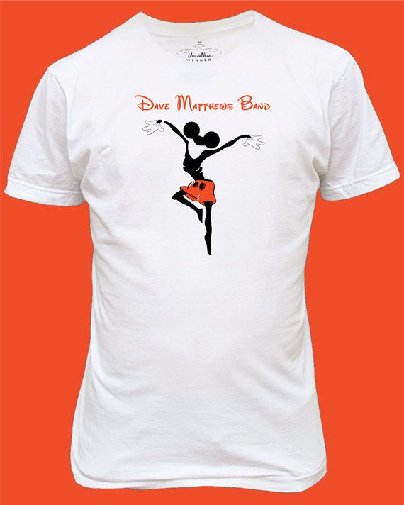 Dave And Disney Uh Yes Screen Printed Dmb Firedancer