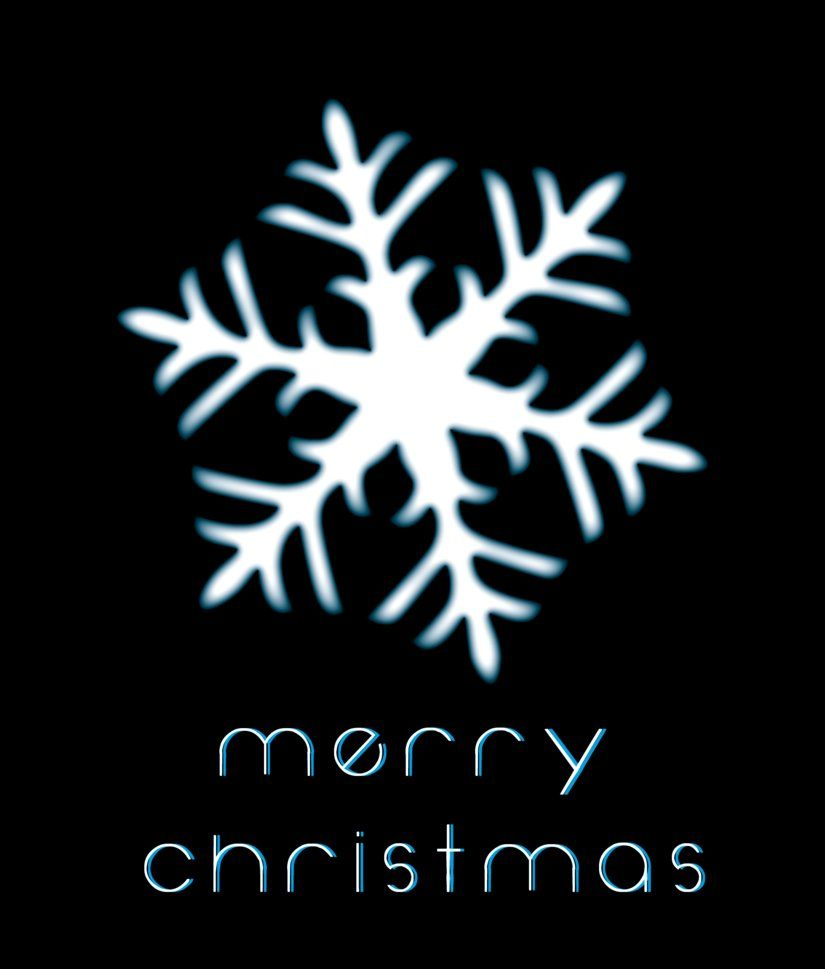 Merry christmas photo greetng christmas card design 1 snowflake by rgunx on deviantart m4hsunfo