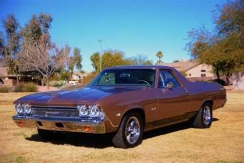 68 El Camino Chevy Muscle Cars El Camino Chevrolet