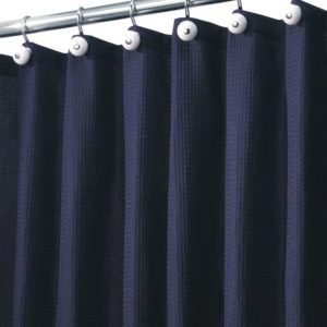Delightful Shower Curtain Liner Navy Blue