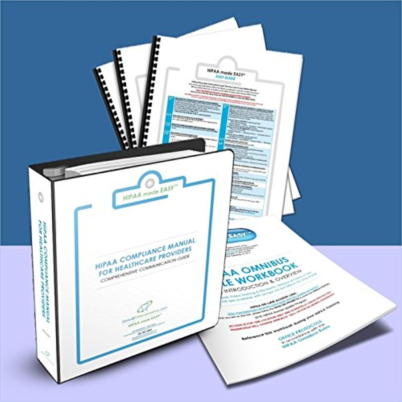 "2017 HIPAA made EASYâ""¢ Complete Compliance Package"