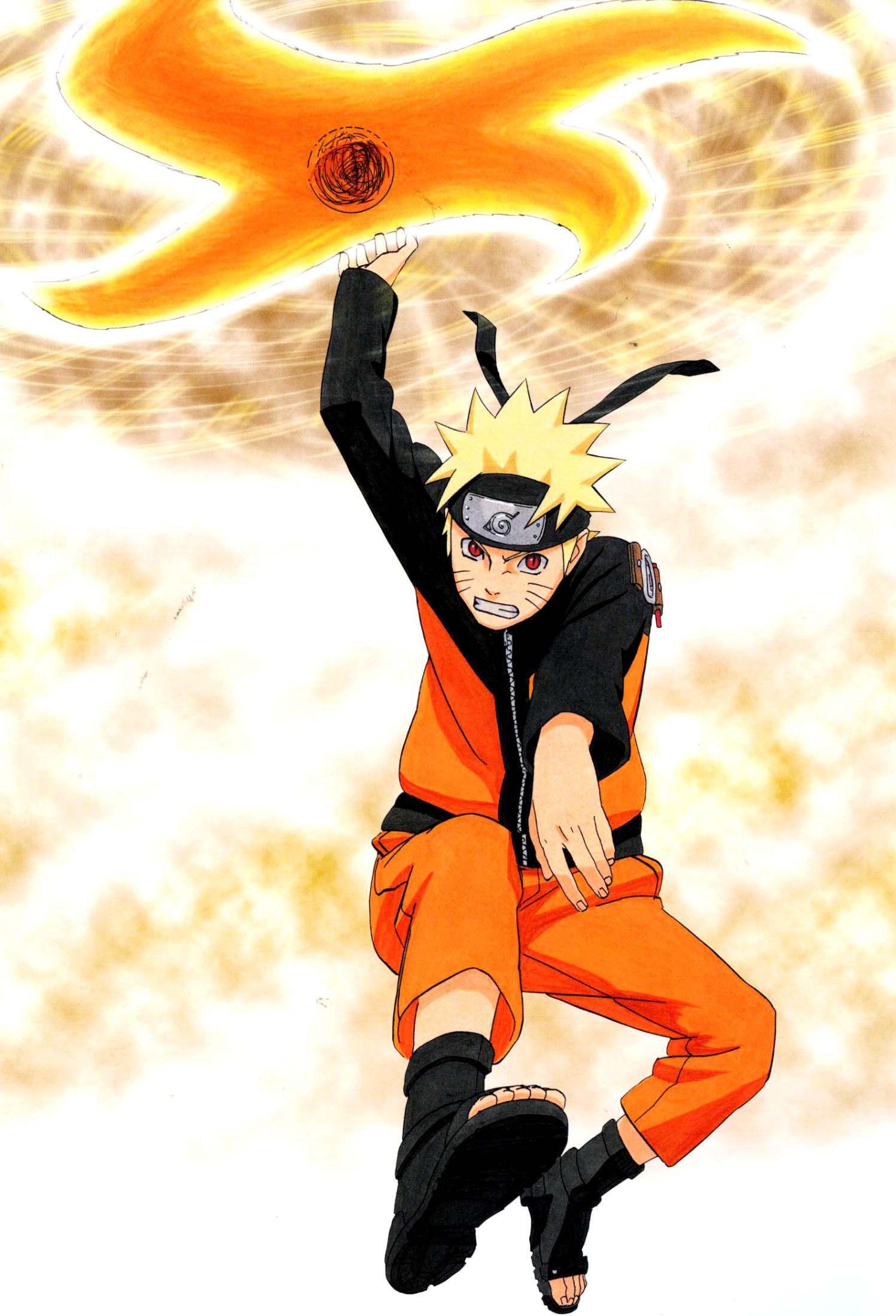 Naruto Artbook Rasenshuriken Wallpaper Iphone 1498x2200
