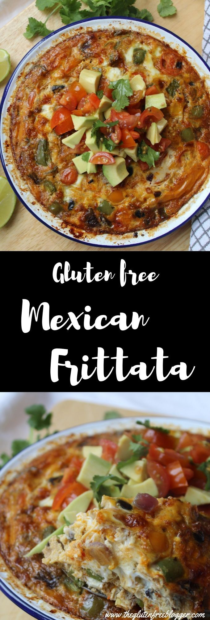Gluten free Mexican frittata images