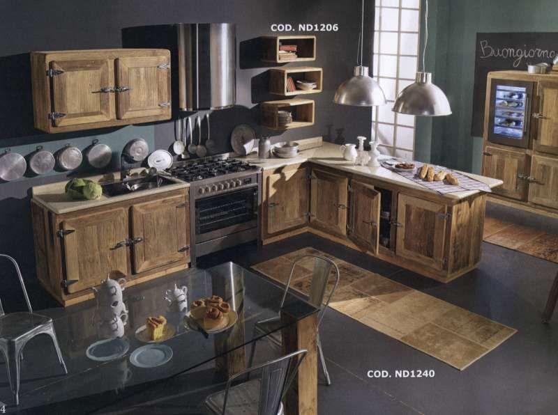 rustico moderno cucina - Cerca con Google | modern design ...