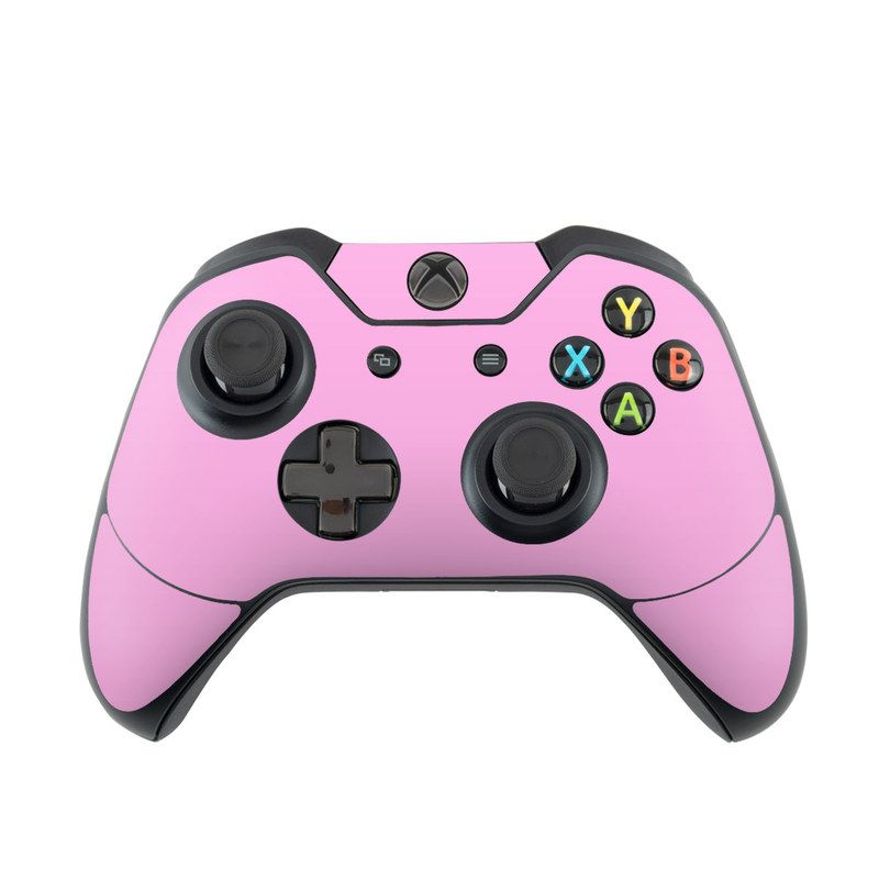 Microsoft Xbox One Controller Skin Solid State Pink By Decalgirl Collective Decalgirl Xbox One Xbox One Controller Xbox