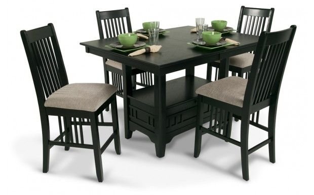 Discount Dining Room Furniture Sets Magnificent Brunswick Pub 5 Piece Set  Dining Room Sets  Dining Room  Bob's Design Ideas