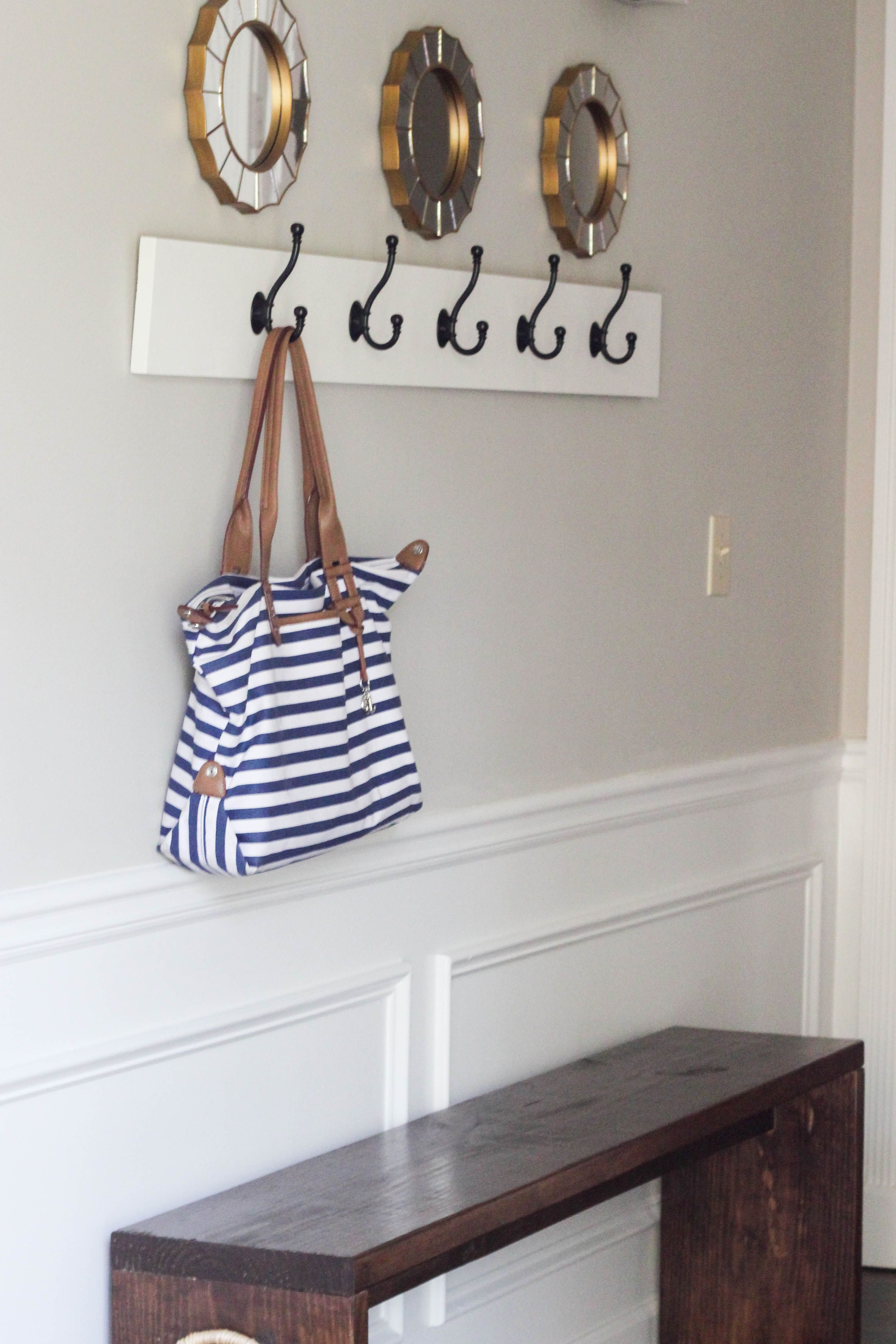 How to build a wall mounted coat rack wall mounted coat