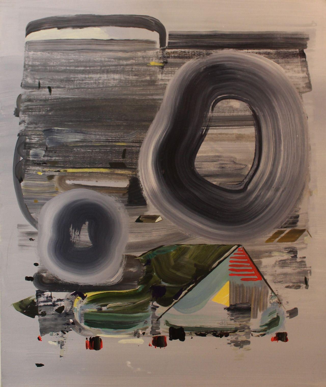 """adam dodd - much is 20"""" x 24"""" acrylic on canvas 2013"""