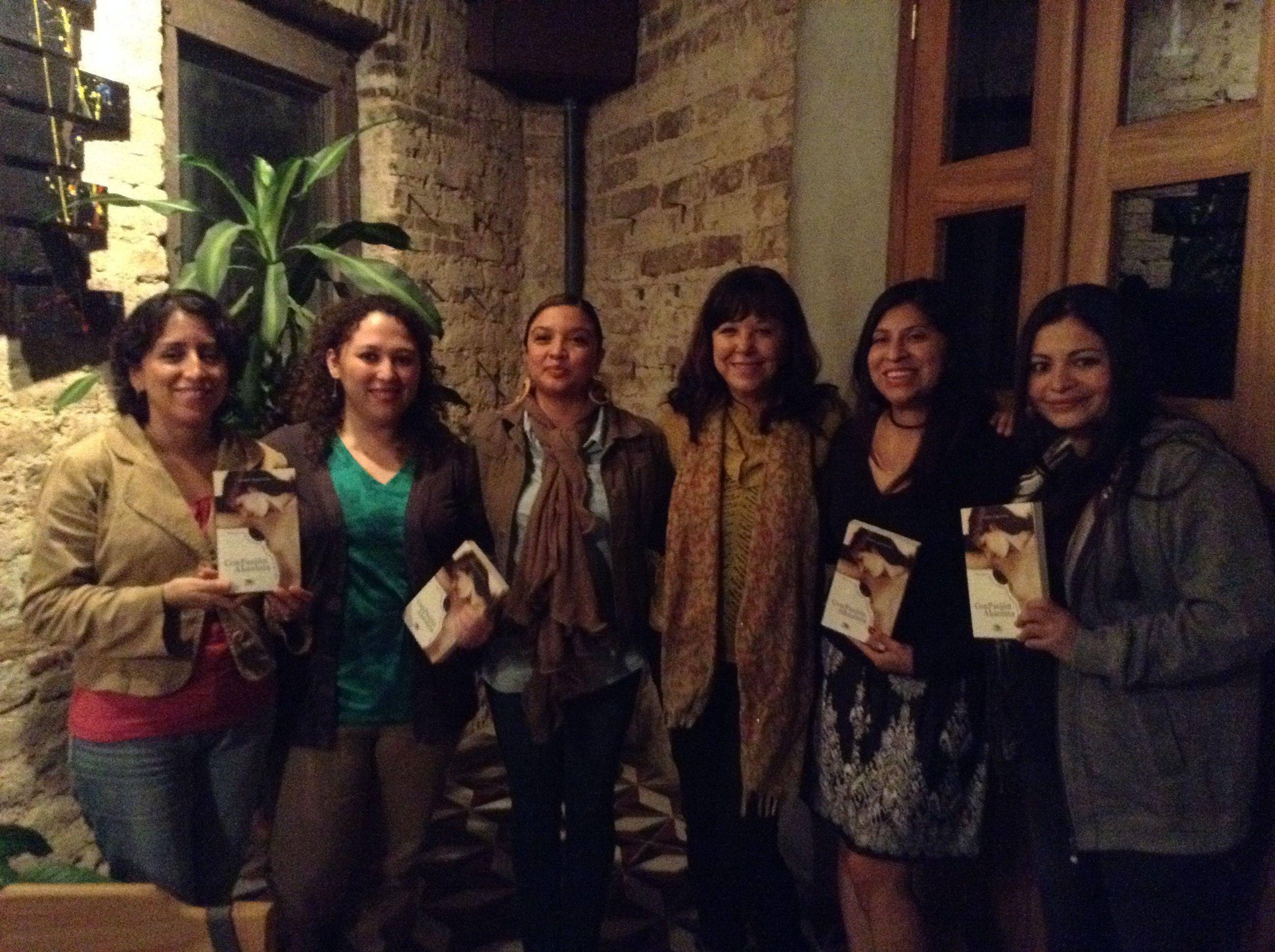 Reunión de Octubre 2014 junto a Carol Zardeto y el Club de Lectoras: Eva. Con pasión absoluta