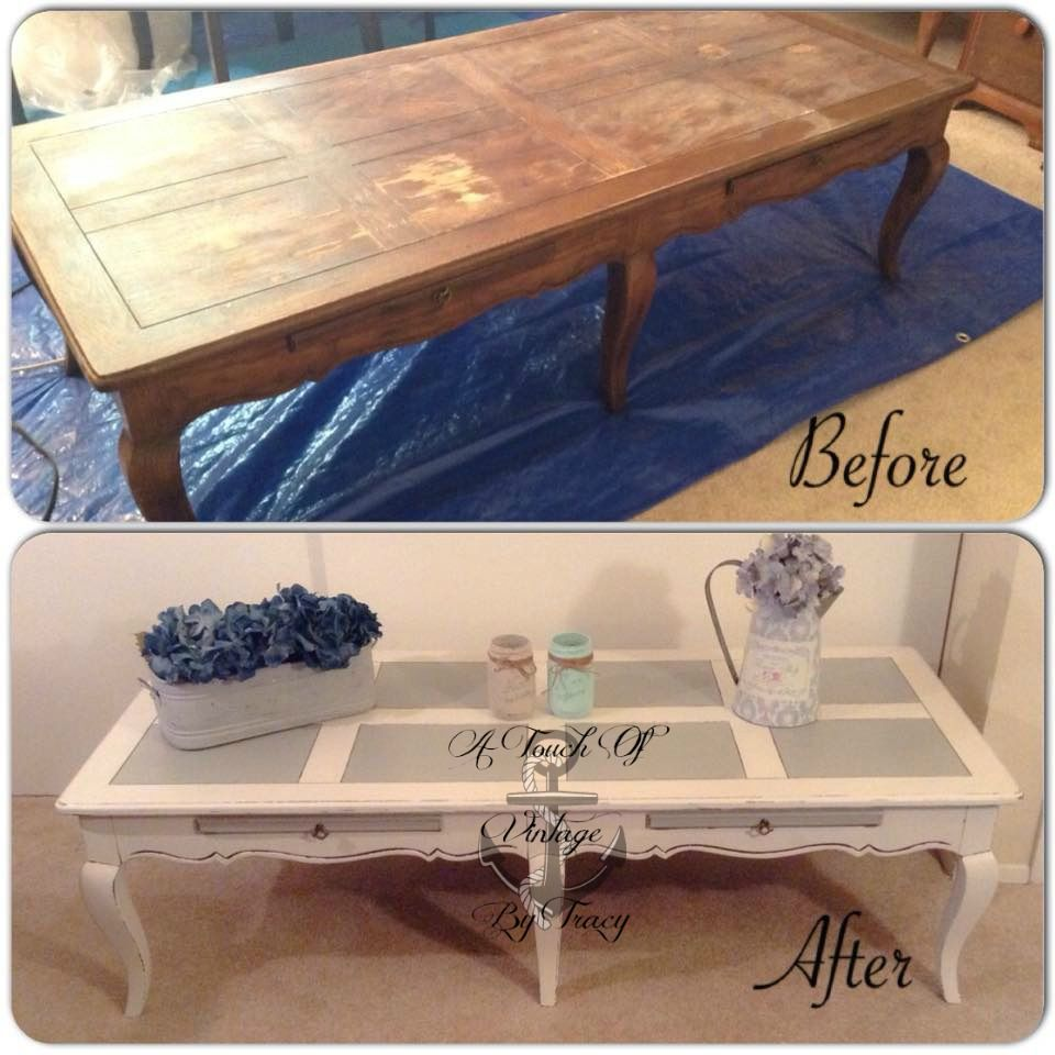 Before & After Henredon Furniture Low French Provincial