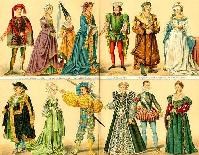 estilos clásicos otra oportunidad precio especial para baja edad media vestimenta - Buscar con Google | Edad media ...