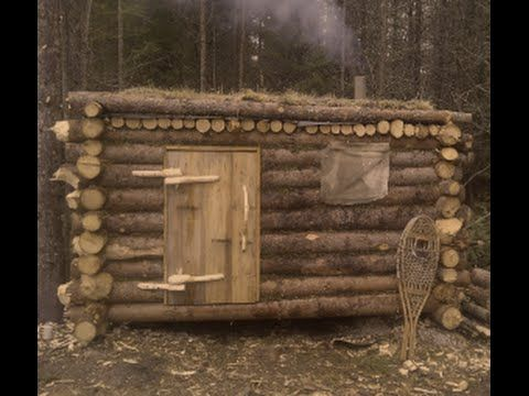 how to build a small cabin youtube
