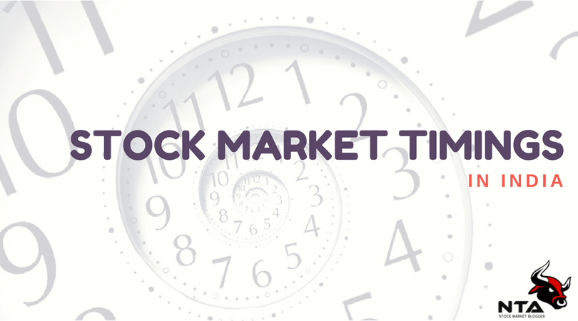 Stock Market Timings In India Bse Nse Timing Trading Hours 2020 With Images Stock Market Marketing Commodity Market