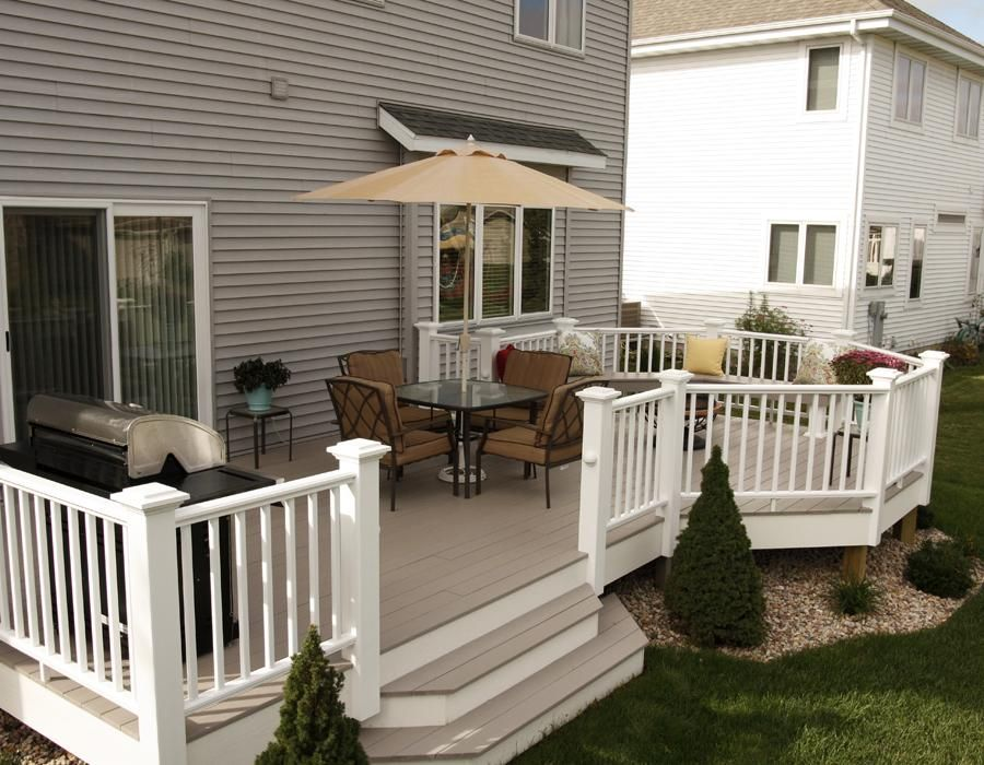 Best Composite And Wood Deck Replacement Deck Landscaping 400 x 300