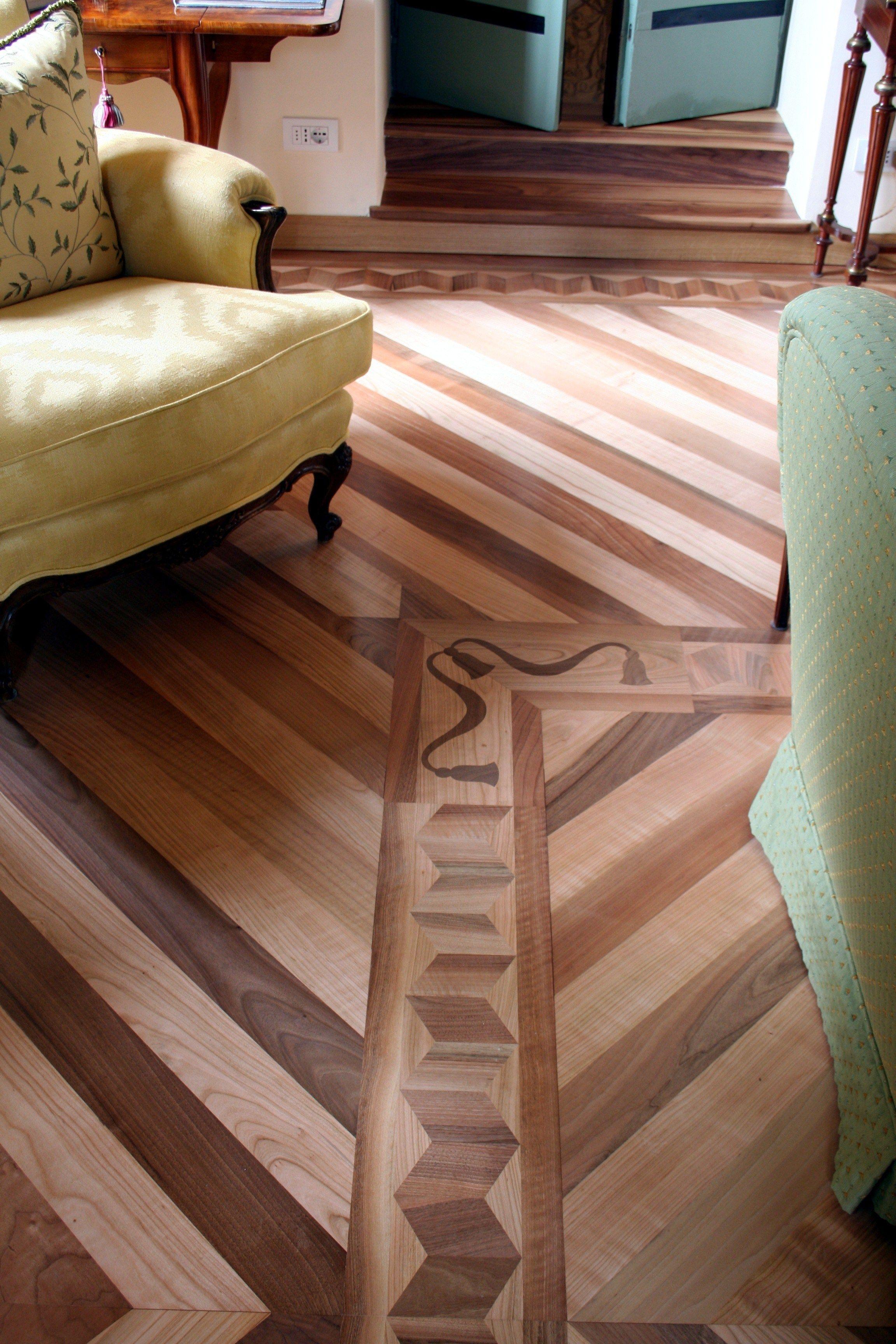 Parquet prefinito in legno frames OPERA by MENOTTI