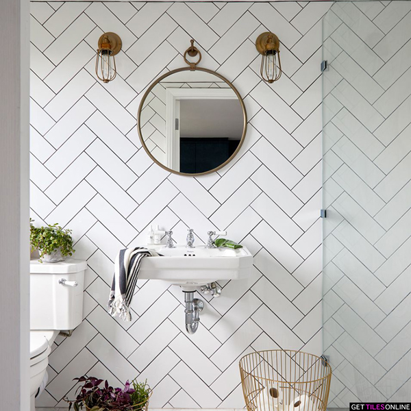 Buy Cheap White Matt Wall Tile 100x300 Get Tiles Online In 2020 Beautiful Tile Work Bathroom Interior Bathroom Interior Design