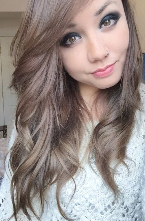 20 Natural Light Ash Brown Hair Color Ideas 2018