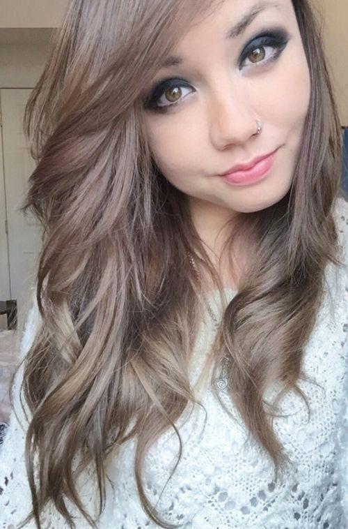 20 Natural Light Ash Brown Hair Color Ideas 2018 | Hair Color Ideas 2017 | Pinterest | Light ash ...