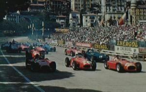 1956 GP de Monaco - Salida