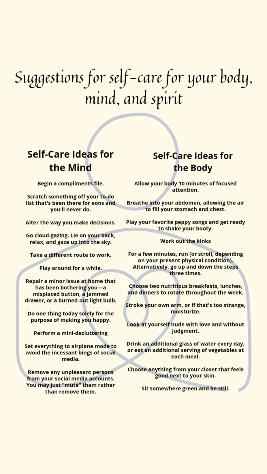 How to stop depending on people and self care tips for body, soul and mind
