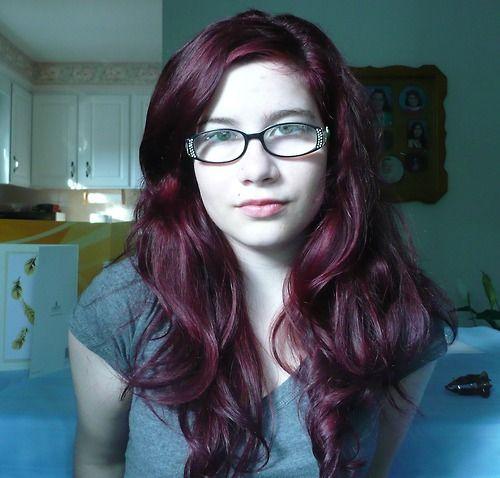 Hot Pink Manic Panic Unbleached Vampire Red On Dark Hair