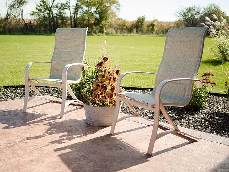 patio chairs makeover outdoor sling chair