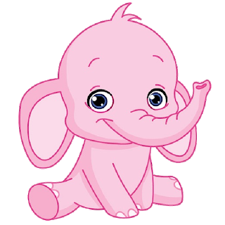 Cartoon Pink Elephant Cartoon Clip Art Images On A ...