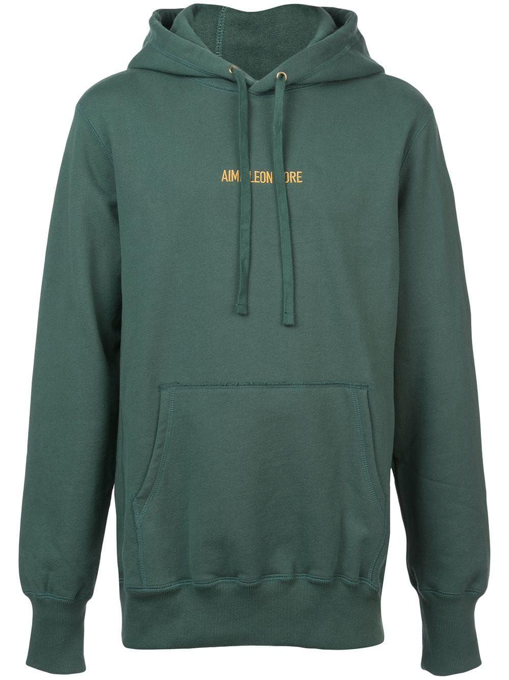 1b0958c55a AIMÉ LEON DORE AIMÉ LEON DORE LOGO HOODIE - GREEN. #aiméleondore #cloth