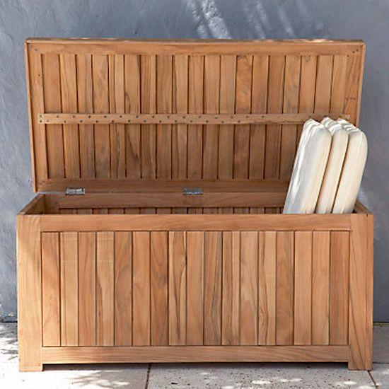Fine 4 Garden Storage Ideas Teak Storage Trunk From John Lewis Inzonedesignstudio Interior Chair Design Inzonedesignstudiocom