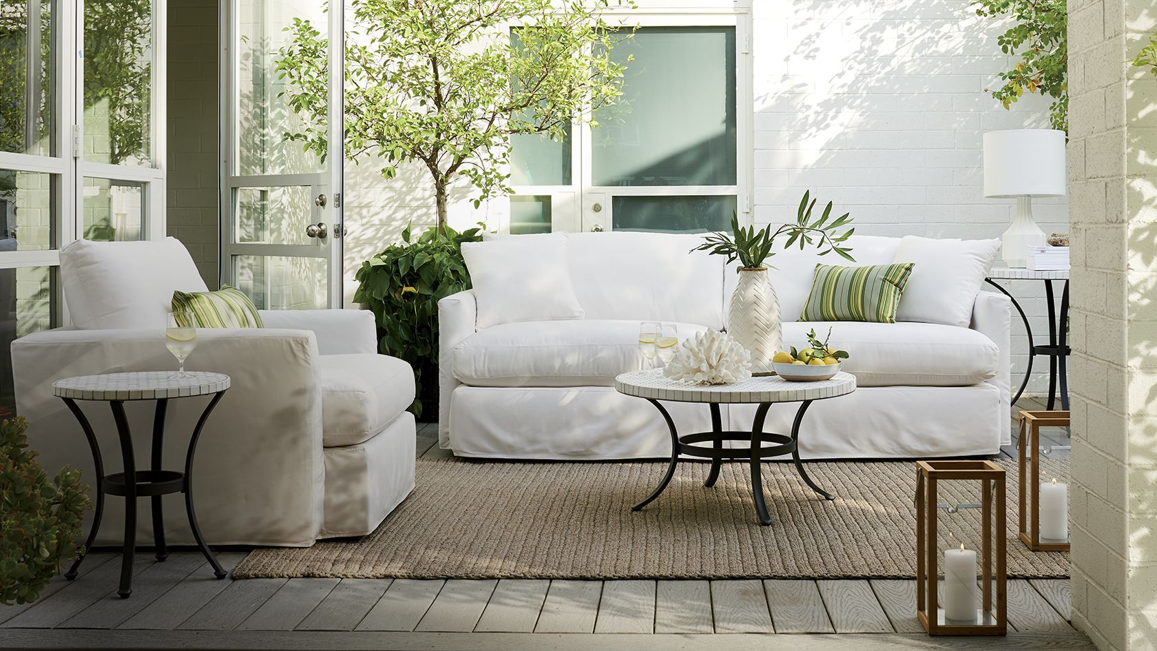 Crate And Barrel Patio Furniture. Outdoor Furniture And Patio Sets | Crate  Barrel P
