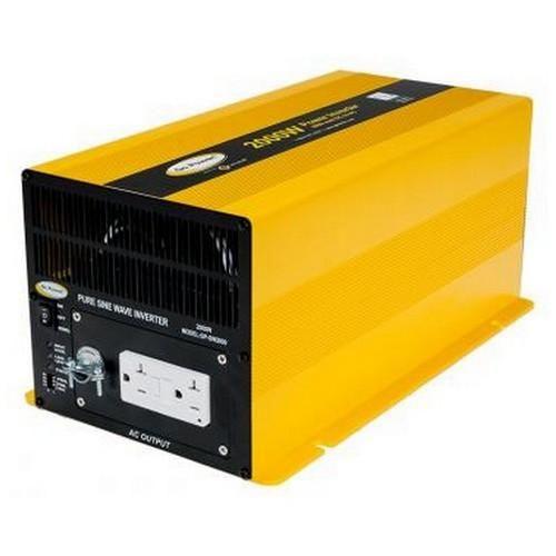 Go Power 2000 Watt Pure Sine Wave Inverter Solar Panel Kits Solar Panels For Home Portable Solar Panels