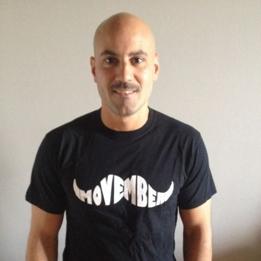 Check out my Mo Space! Donate to support Movember and my mustache!