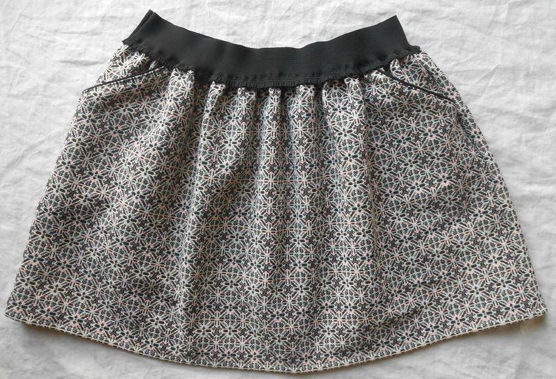 Jpp alias la jupe poches passepoil es l 39 atelier clandestin couture pinterest tuto jupe - Tuto jupe facile elastique ...