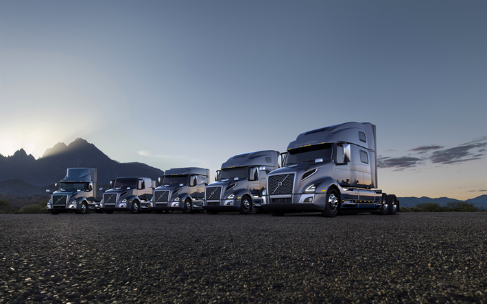 Download Wallpapers Volvo Vnl 2017 4k Series Of Trucks All Modifications Vnl Specifications Volvo Besthqwallpapers Com Volvo Best Midsize Suv Suv Comparison