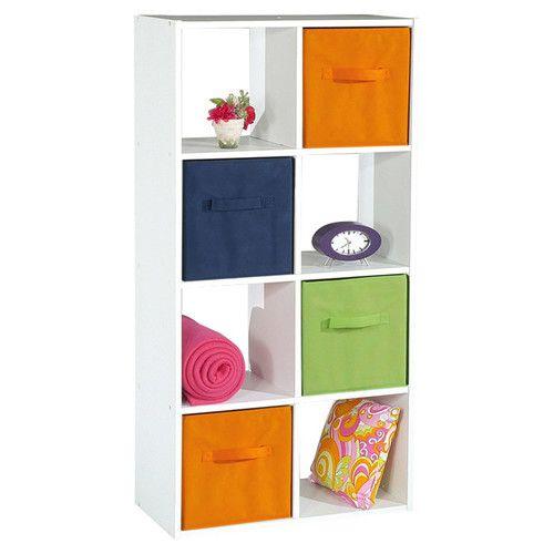 Wickenden Bookcase Kids Storage Furniture Cube Bookcase Bookcase Storage