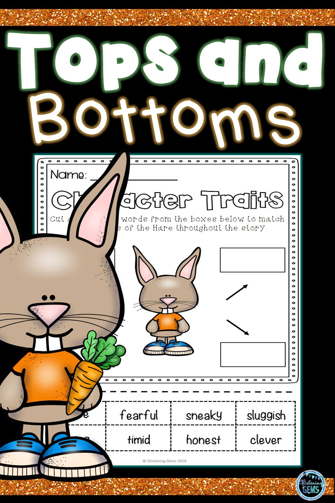 Tops And Bottoms Activities