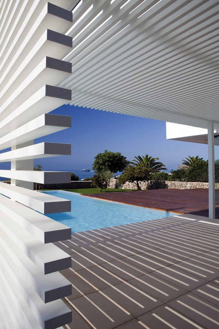House in Menorca, Ciutadella de Menorca, 2009 by dom arquitectura #architecture #design #stair #interiors