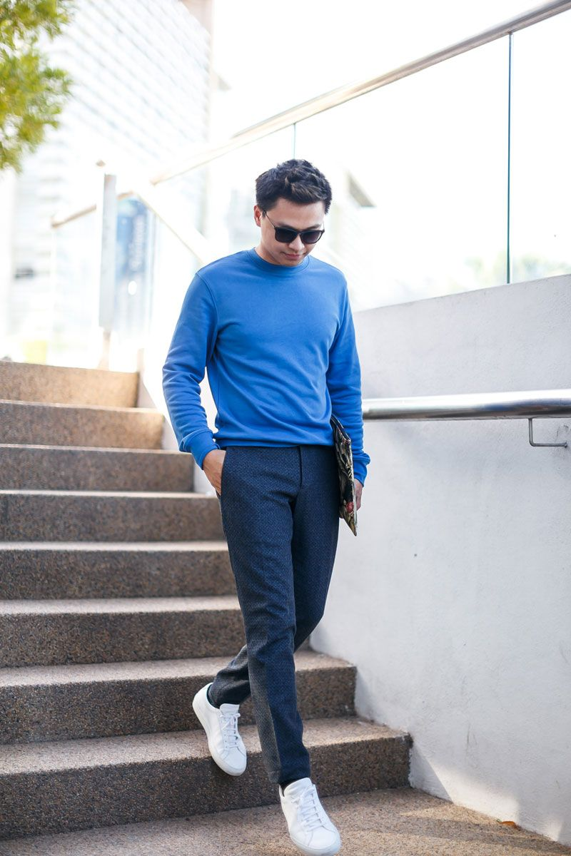 Men Casual Style 02 In Apc Paris Ami David Naman Common Projects