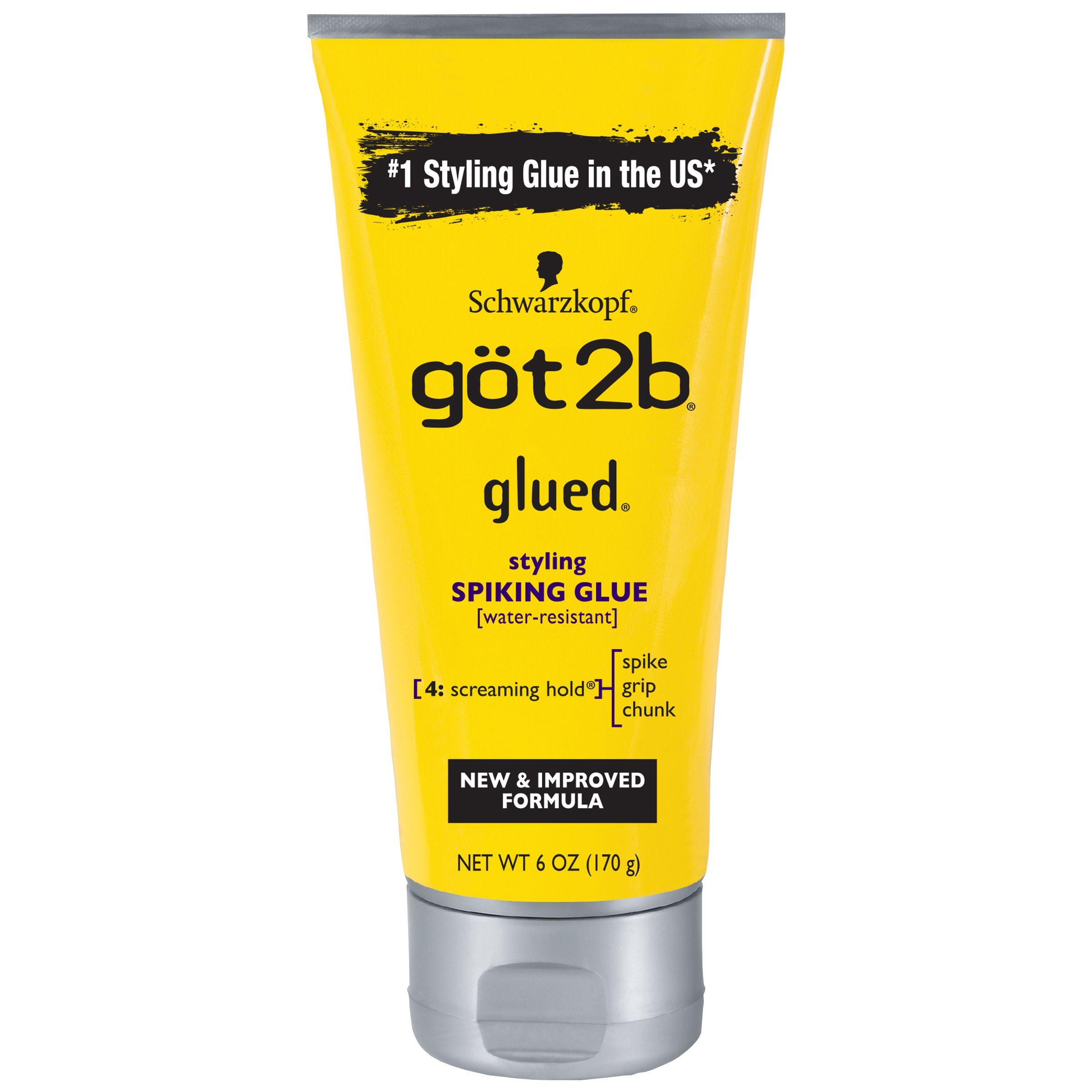 Got2b Glued Styling Spiking Hair Glue 6 Ounce Styling Glued Got2b Hair Glue Got2b Glued Got2b