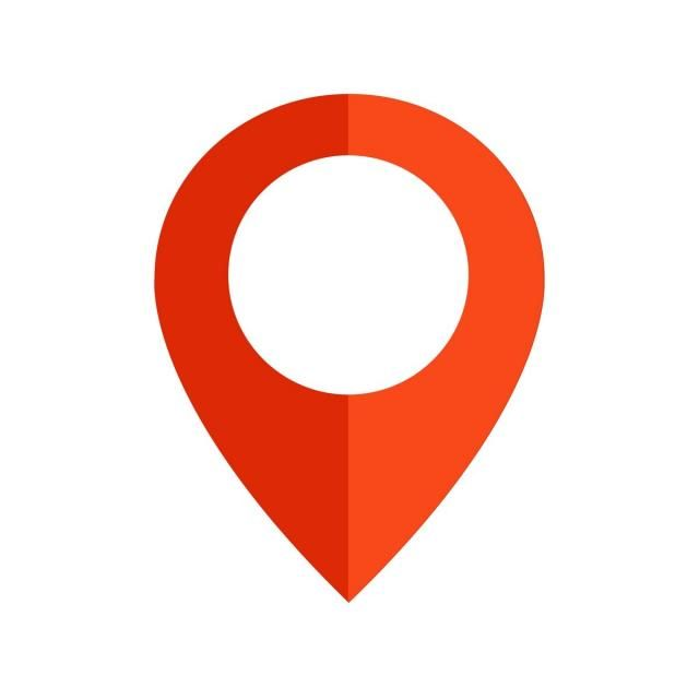 Pin Location icon Vector and PNG | Location icon, Vector icons free, Social media icons vector